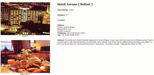 5 star hotel description
